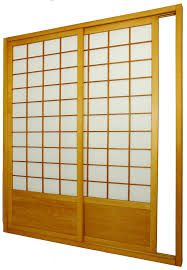 door furniture design. Terrific Oriental Furniture Single Sided Sliding Door Frosted With Natural Wooden Frames Also White Wall Images Design H