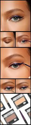 wedding makeup for blue eyes graphic eyeliner look chic new way to wear liquid
