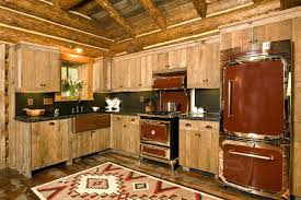 rustic red kitchen cabinets 5 reasons to choose rustic cabin kitchens luxury rustic kitchen design with brown wooden l rustic red oak kitchen cabinets