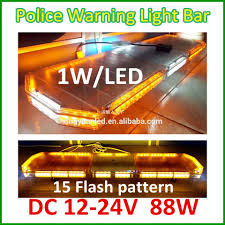 Used Light Bars 12v Amber Flash Led Light Bars For Ambulance Car Used