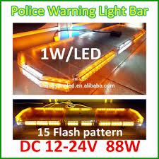 Used Ambulance Light Bar 12v Amber Flash Led Light Bars For Ambulance Car Used