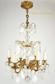 antique french gilt bronze cut crystal chandelier circa bronze crystal chandelier style selections 3 light antique