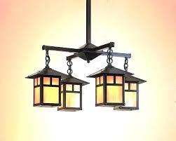 craftsman style lighting craftsman style dining room chandeliers
