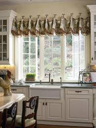 Valance For Kitchen Windows Creative Kitchen Window Treatments Hgtv Pictures Ideas Hgtv
