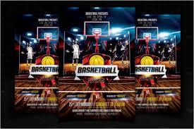 Basketball Flyer Design Template –