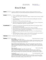 Download Metallurgical Engineer Sample Resume