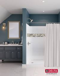 Bathroom Remodeling Baltimore Beauteous Shower Customization Made Simple Delta UPstile Delivers A High