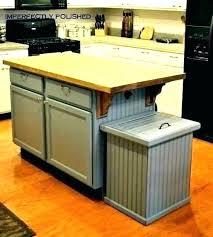 Cabinet Trash Can Insert Kitchen Door Bag Holder I97