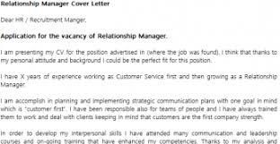 Awesome Assistant Relationship Manager Cover Letter Photos ...
