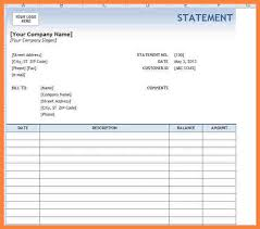 7 Bank Statement Template Word - Isanetworks.co
