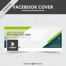 Free Facebook Covers Templates Facebook Cover Template In Abstract Style Vector Free Download