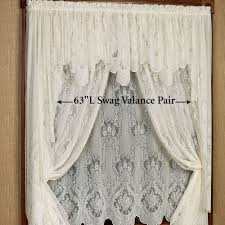 Lace Window Treatments Vanessa Lace Window Treatment