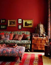 Boho Eclectic Decor Boho Eclectic Decorating With Tuscan Decor And Ottoman As Coffe