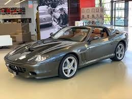 2002 360 modena in gorgeous giallo modena with nero interior featuring deviated yellow stitching throughout. Used Ferrari 575 Superamerica Car For Sale In Plan Les Ouates Official Ferrari Used Car Search