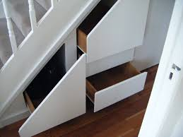 under stairs furniture. storage inspiration white painted plexwood pull out drawers as under stairs wooden floors in basement furniture decors ideas s