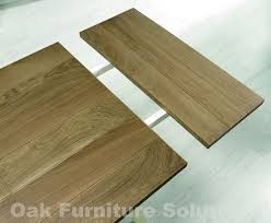 dining table leaf slides. renew coniston two tone extending dining table | oak furniture solutions || extension mechanism leaf slides c