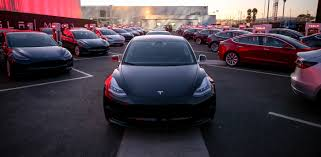 Image result for many Tesla Model 3