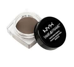 nyx professional makeup tame and frame brow pomade in brunette reviews photos ings makeupalley