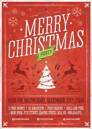 christmas event flyers templates top 50 christmas flyer templates of 2015 flyersonar com