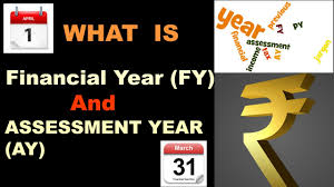 Financial Year What Is Financial Year Fy And Assessment Year Ay Youtube