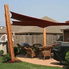 custom made shade sails with sunbrella