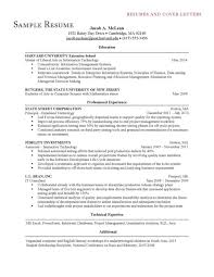 Cover Letter Of Mba Resume