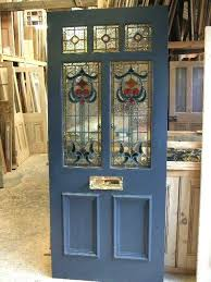 stained glass entry doors leaded glass front door s stained glass exterior doors stained glass front