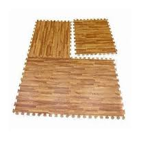 96 sq ft eva interlocking mats foam floor wood grain exercise gym playground mat walmart