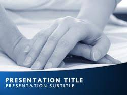 Royalty Free Carer Powerpoint Template In Blue