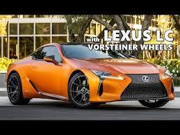 lexus lfa black rims. matte orange lexus lc on vorsteiner wheels lfa black rims