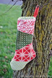 Quilt Inspiration: Free pattern day! Christmas stockings & Christmas Stockings tutorial at Amy's Creative Side; wonky stars tutorial  by Victoria Gertenbach Adamdwight.com