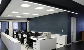 led panel lights office commercial led lighting uk