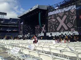 Sdccu Stadium Section A6 Row 20 Seat 9 One Direction