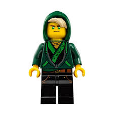 LEGO Dark Green Minifigure Lloyd Hood with Hair (34681) Comes In | Brick  Owl - LEGO Marketplace