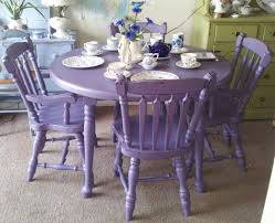 hand painted dining table and chairs. purple antique shabby chic mahogany dining table \u0026 chairs. hand-painted furniture/upcycle hand painted and chairs t