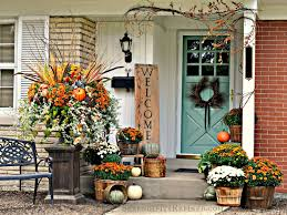 ... Home Decor, Simple Front Porch Design Great Tips For Fall Home Decor:  Great Tips ...