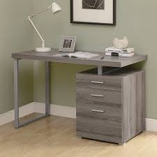 monarch specialties dark taupe computere extra long desk with drawers for two ideas