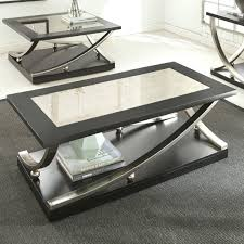 mirror top coffee table ed inspire q hayes metal accent