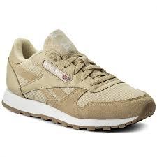 Ботинки reebok cl leather estl bs9722 straw white