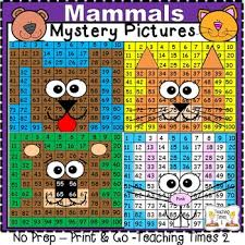 Mammals Hundreds Charts L Math Centers L Literacy L Science