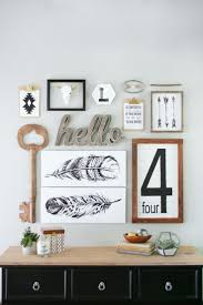 Wall Decor Meaningful Wall Decor With Gallery Walls Diy Better Homes