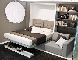 muphy bed with sofa modern design gray sectional sofa floating shelves murphy