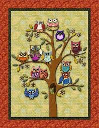 Best 25+ Owl quilts ideas on Pinterest | Owl baby quilts, Owl ... & Owl Quilt Pattern | ... you, this is what the original design looks Adamdwight.com