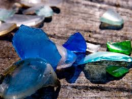 what is sea glass and where does it come from science abc