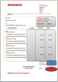 Hourly Invoice Template Creative And Free Invoices For Hours Worked