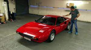 Unlike his rolls royce which we'll show you later on, he wasn't allergic to the seats on this one. James May S Ferrari 308 Walkaround Video Is Simple And Brilliant