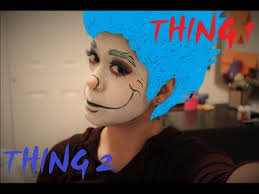 thing 1 and thing 2 makeup tutorial