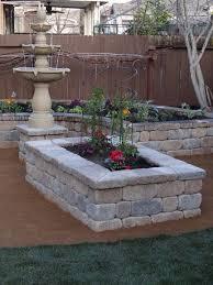build your own stone planter box