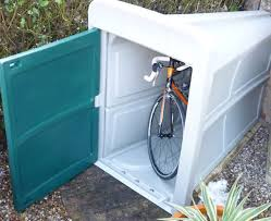 phenomenal outdoor shed for bike vault to beat thief bicycle storage generator washer and dryer lawn mower portable dog gym garbage can air compressor