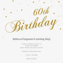 60 birthday invitations free 60th birthday invitation templates greetings island